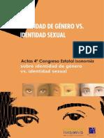 Congreso Identidad de Género vs Identidad Sexual