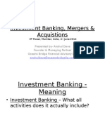 Investment Banking Presentation