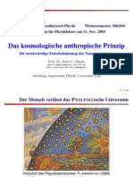 Anthropische Prinzip
