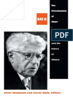 2013 Peter Thompson the Privatization of Hope - Ernst Bloch and the Future of Utopia