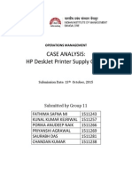 Group11_HP Deskjet Supply Chain