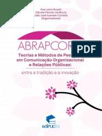 Livro - Teorias e Métodos de Pesquisa Em Comunicação Organizacional e RP - Abracorp
