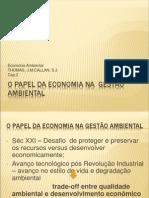 O Papel Da Economia Na Gestão Ambiental