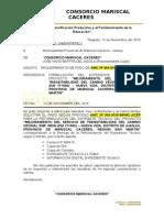 Carta Entrega Proyecto Cmc