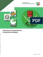 2008 Islamistische Organisationen in NRW - LfV NRW