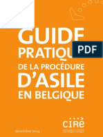 Guide Pratique de la Procedure D'Asile en Belgique