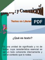 Texto No Literarios