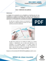 Tema 1. Definicion de Auditoria