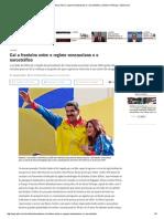 Cai a Fronteira Entre o Regime Venezuelano e o Narcotráfico _ Mundo _ Notícias _ VEJA