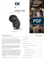Rode Stereo VideoMic Pro Manual2