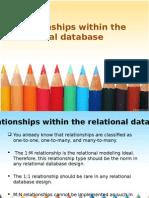 relationshipswithintherelationaldatabase-120922015719-phpapp02