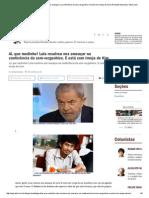 Ai, Que Medinho! Lula Resolveu Nos Ameaçar Na Conferência Da Sem-Vergonhice. E Está Com Inveja de Kim _ Reinaldo Azevedo _ VEJA