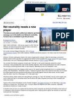 L03_Net Neutrality Needs a New Player - Jul. 20, 2006