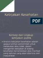 kebijakan kesehatan(2)