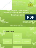 Reumatologia Tema