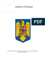 constitution of romania
