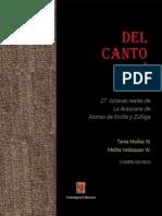 De Ercilla y Zúñiga Alonso - 27 Octavas Reales Del Canto Primero de La Araucana