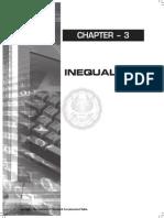 Quantitative Methods Ch 3 - Inequality