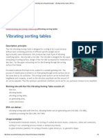 Vibrating and Sorting Technologies - Vibrating Sorting Tables _ EPA A