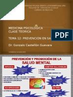 Tema 12 Medicina Psicologica
