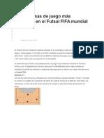 Los Sistemas de Juego Más Utilizados en El Futsal FIFA Mundial