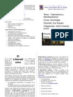 El Liberalismo y el Neoliberalismo