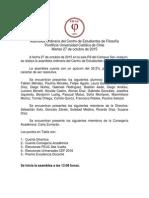 Acta Asamblea Ordinaria Octubre