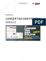 LANGER TAG DER POLITIK  WIEN15 - Report