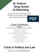 Economic Crisis Political Crisis and War
