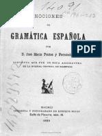 Gramatica Española 1899