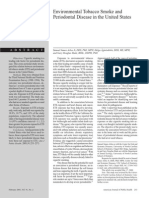 Dafpus No.60 - Environmental Tobacco Smoke and Periodontal Disease in the United States