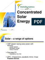 0811-2 Concentrated Solar Energy - HelioDynamics