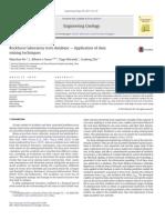 Rockburst Laboratory Tests Database- Application of Data Mining Techniques