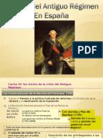 Tema 4 .La crisi del Antiguo Régimen en España