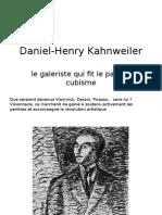 Kahnweiler Daniel Henry