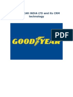 good year ltd and Its Crm Technology