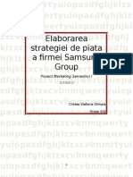 Elaborarea Strategiei de Piata a Firmei Samsung Group