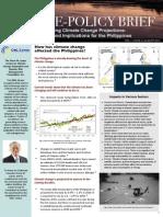 Science-Policy Brief Vol. 1 Issue 2