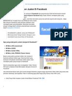 Cara Mudah Tingkatkan Jualan Di Facebook