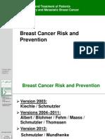 02 2012E Breast Cancer Risk and Prevention