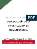 METODOLOGÍA+DE+LA+INVESTIGACIÓN+EN+COMUNICACIÓN.