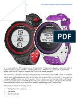 What is GPS Watch