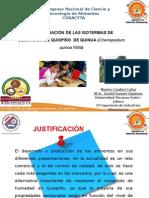 DETERMINACIÓN DE LAS ISOTERMAS DE DESORCIÓN DE QUISPIÑO  DE QUINUA