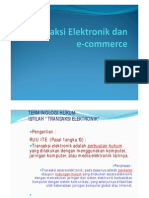 transaksi elektronik