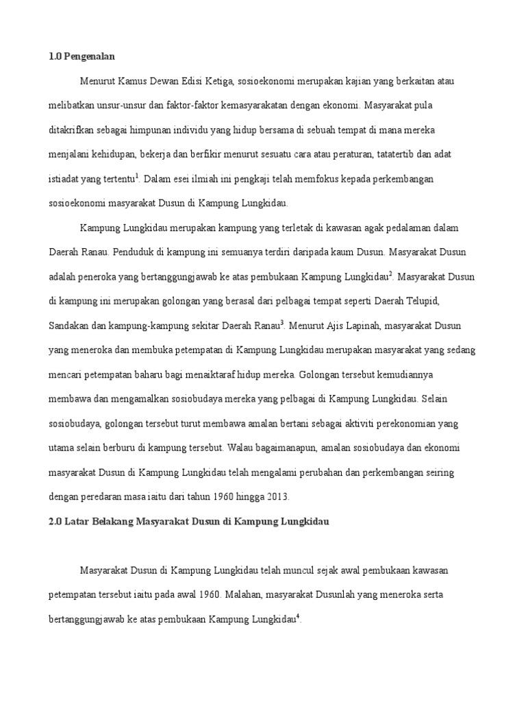 Esei Kerja Kursus A K A Pbs Sejarah Stpm
