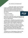 Programa de La Revolución Mexicana