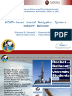Mems Based Inertial Navigation Systems Onboard Balloons1128