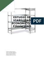 Estudio de viabilidad económico y financiero