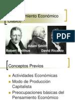 Pensamiento Económico Clásico - Adam Smith