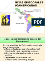 CONFERENCIAS EPISCOPALES